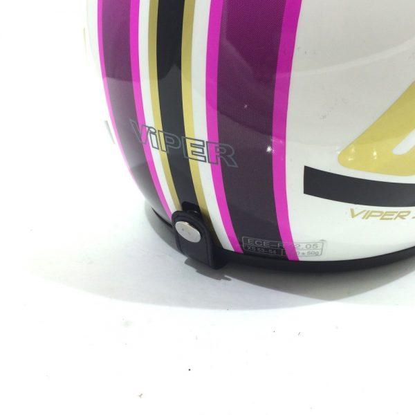 Viper RS-04 Open Face Motorcycle Helmet Matt Black