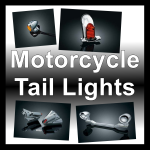 Motorcycle Tail & License Plate Lights
