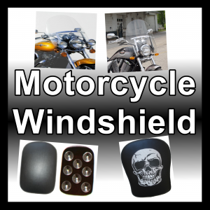 Motorcycle Windscreens and mudguards fenders